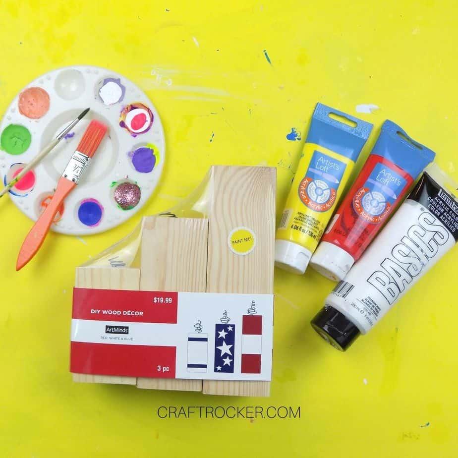 Craft Supplies for Painted Wood Pumpkins - Craft Rocker