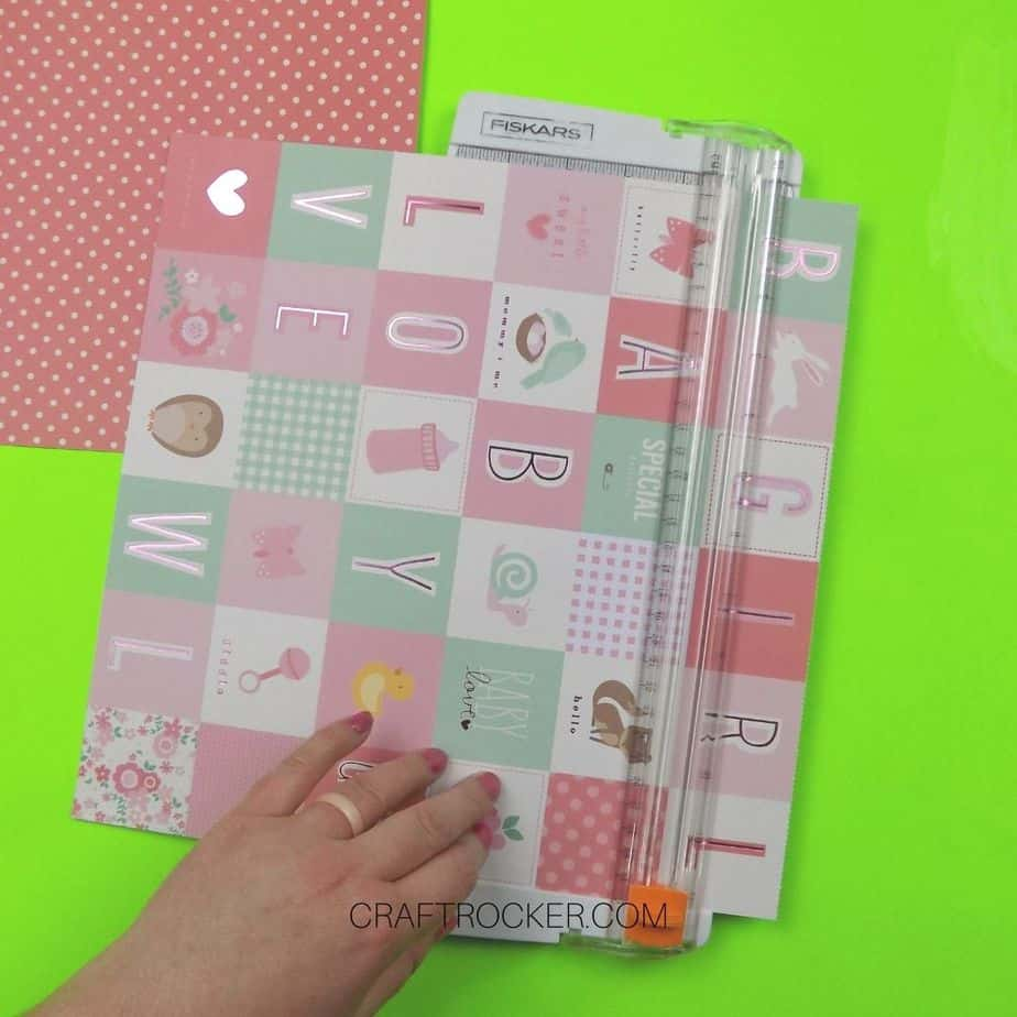 Decorative Paper in Cutting Machine - Craft Rocker