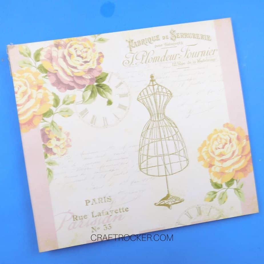 Floral Post Bound Scrapbook - Craft Rocker
