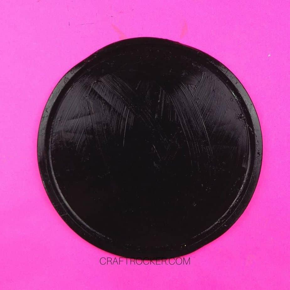 Black Painted Pizza Pan - Craft Rocker