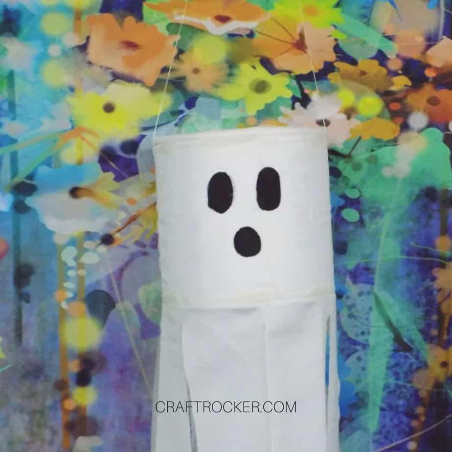 Close Up of Ghost - Craft Rocker