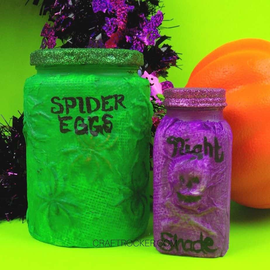 Halloween Potion Bottles - Craft Rocker