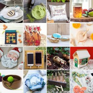 Collage of Photos of DIY Christmas Gift Ideas - Craft Rocker