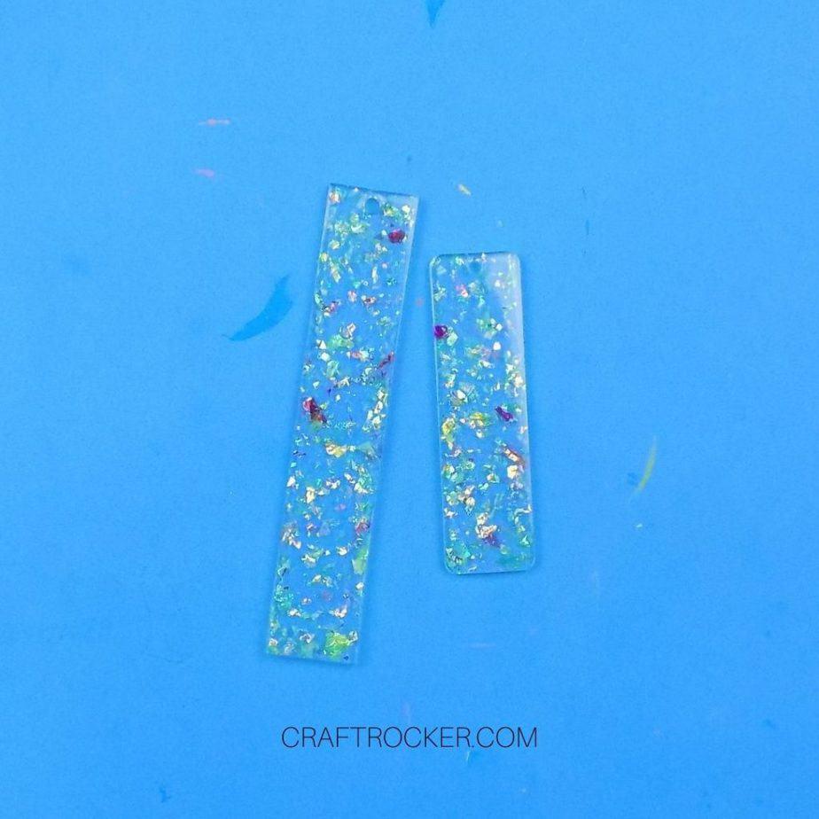 Glitter Epoxy Resin Bookmarks - Craft Rocker