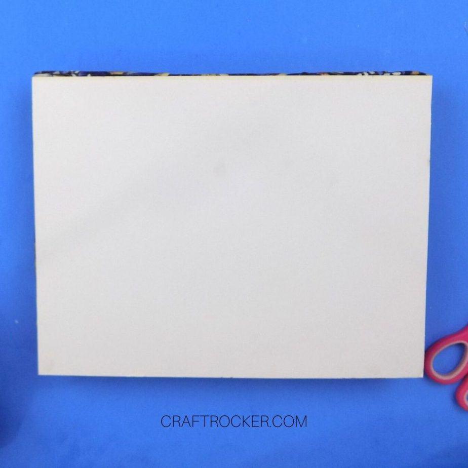 White Cardboard on Back of Memo Board - Craft Rocker