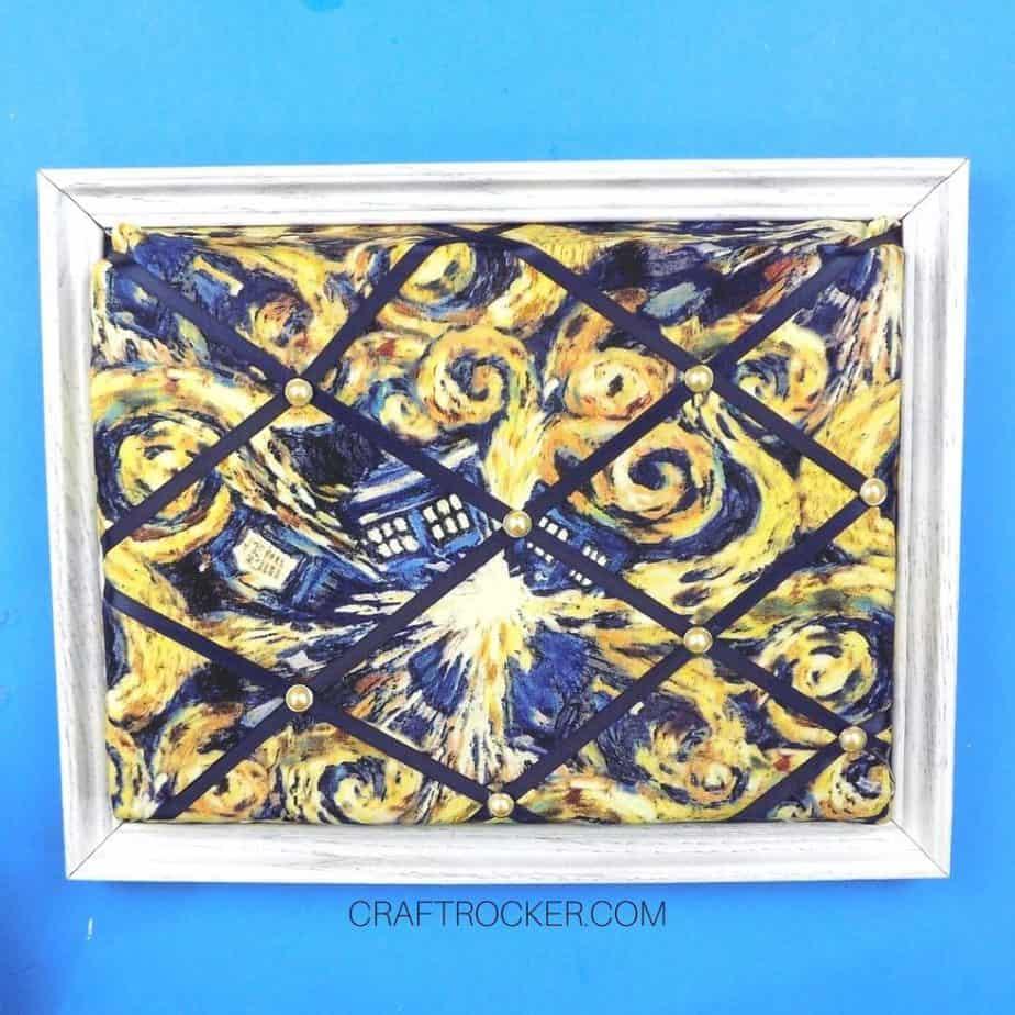 White Framed Memo Board - Craft Rocker