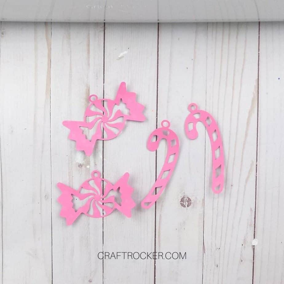 Candy and Candy Cane Overlay Cuts - Craft Rocker