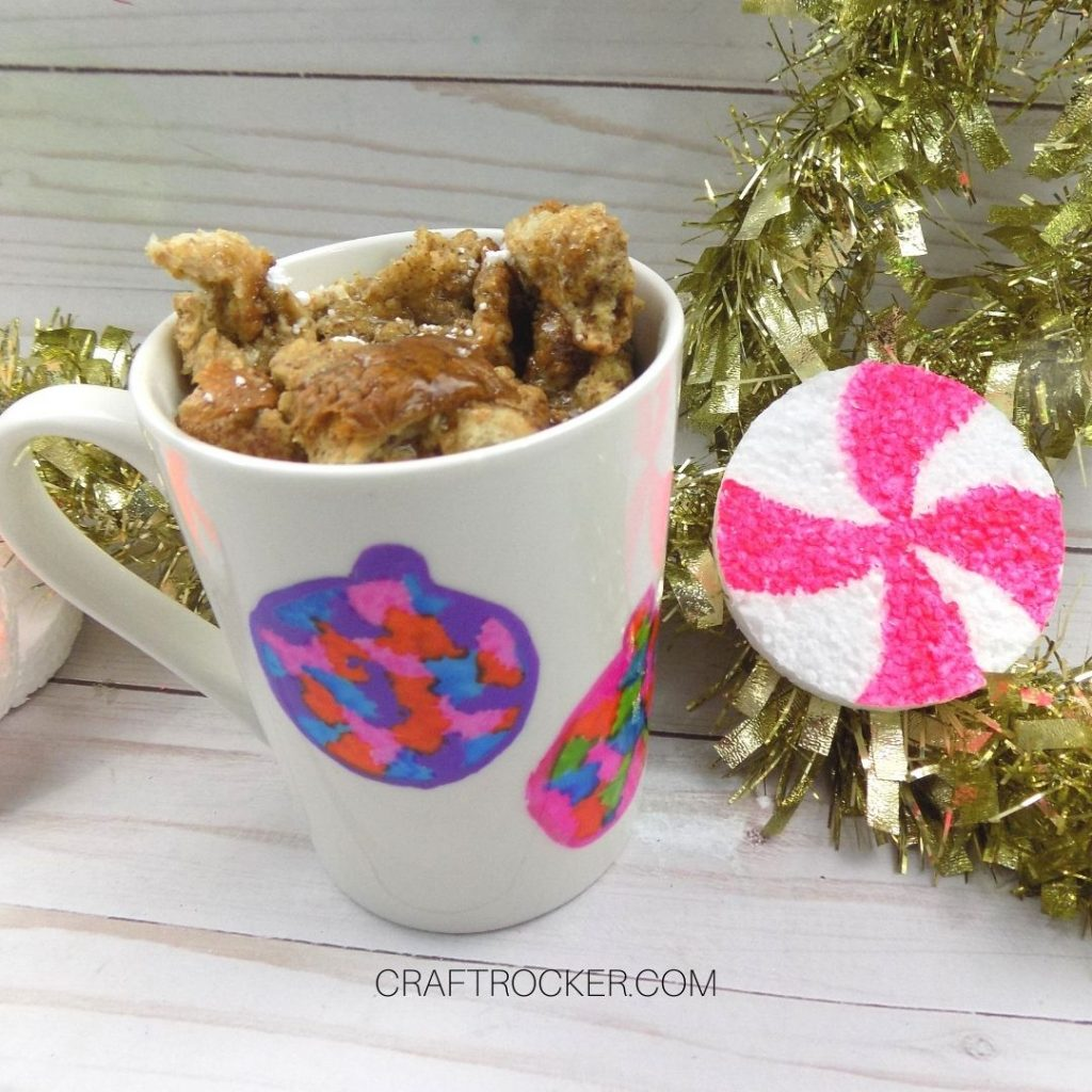 Close Up of French Toast in Ornament Mug - Craft Rocker