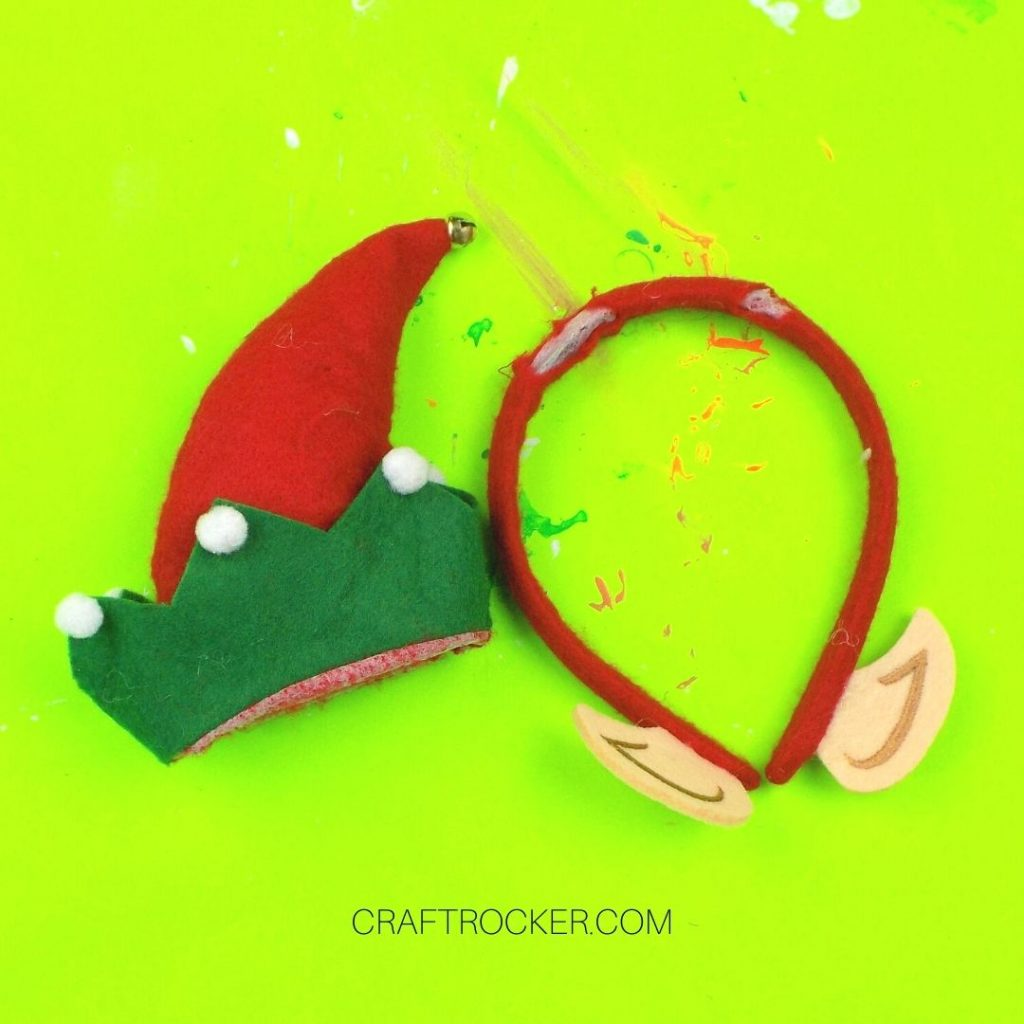 Elf Hat Removed From Headband - Craft Rocker