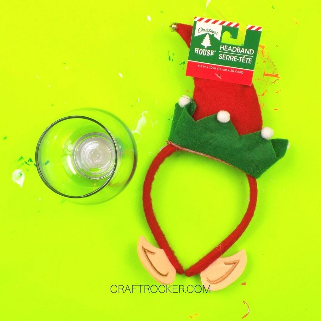 Elf Headband next Candle Holder - Craft Rocker