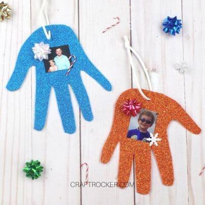 Christmas Photo Craft Kids Can Make