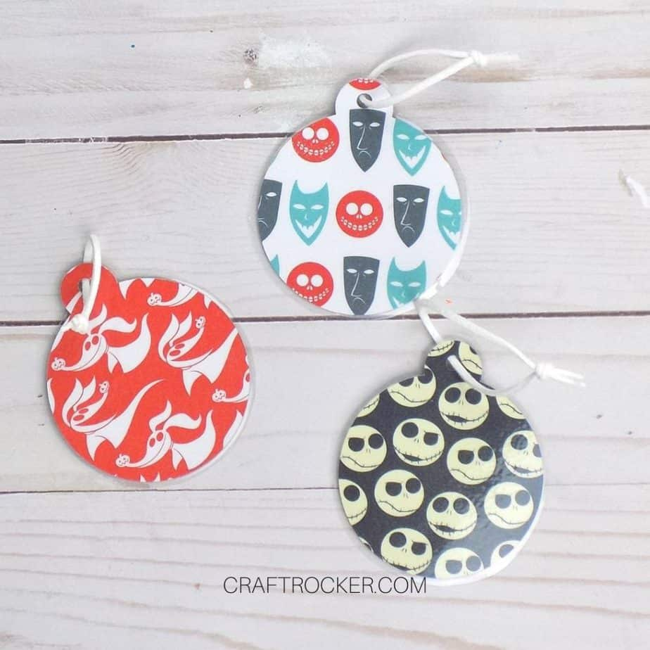 Nightmare Before Christmas Gift Tags - Craft Rocker
