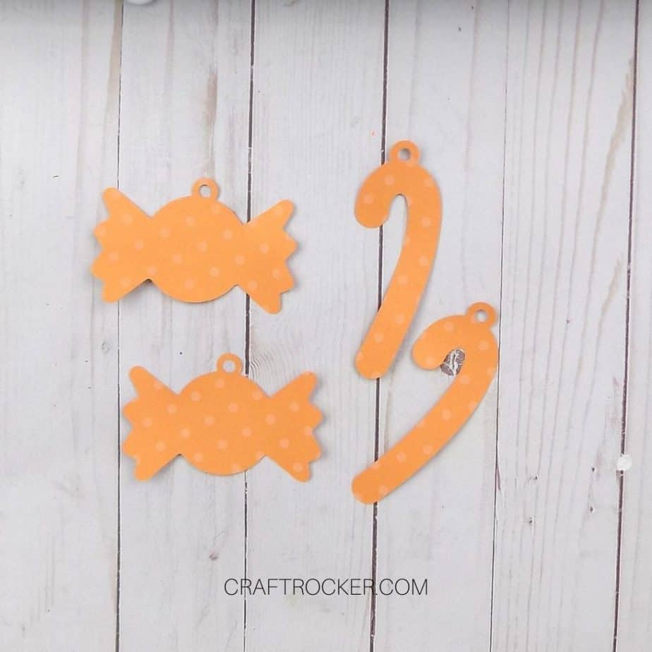 Orange Candy Shadow Outlines - Craft Rocker