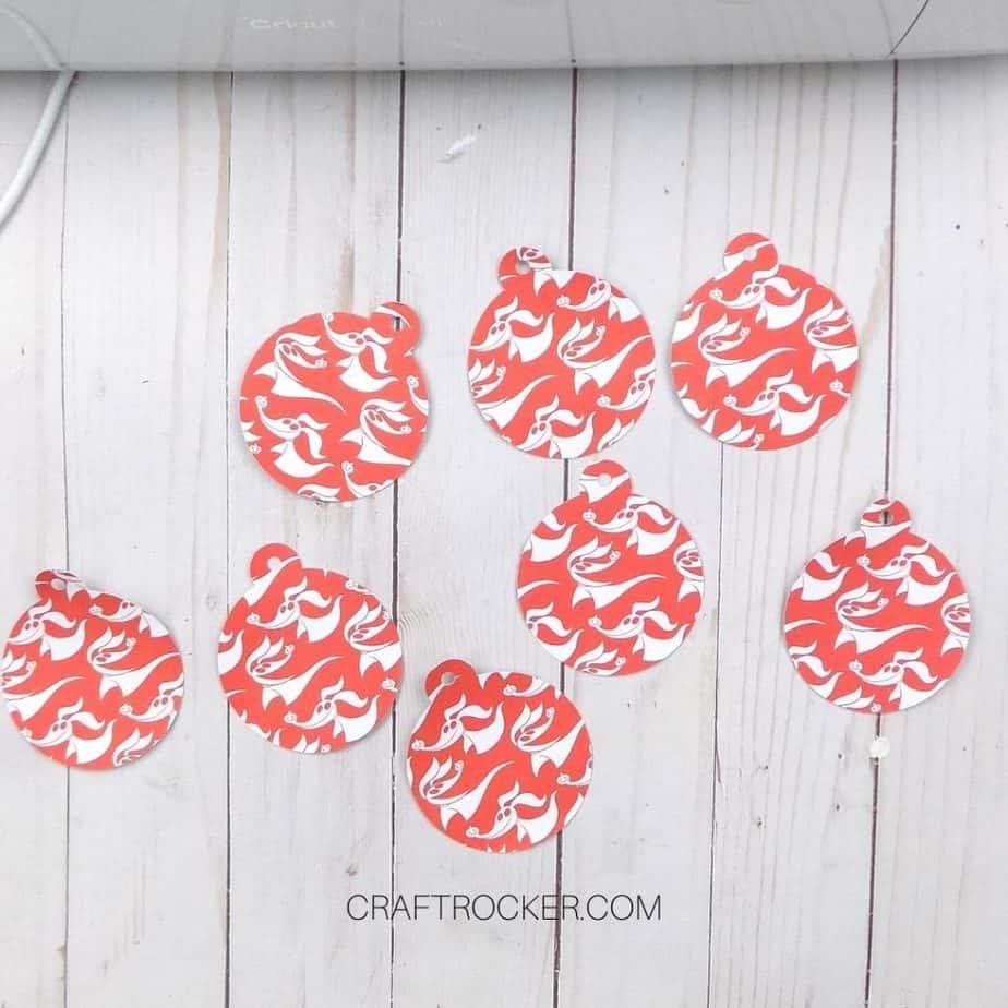 Zero Patterned Ornaments on Wood Background - Craft Rocker