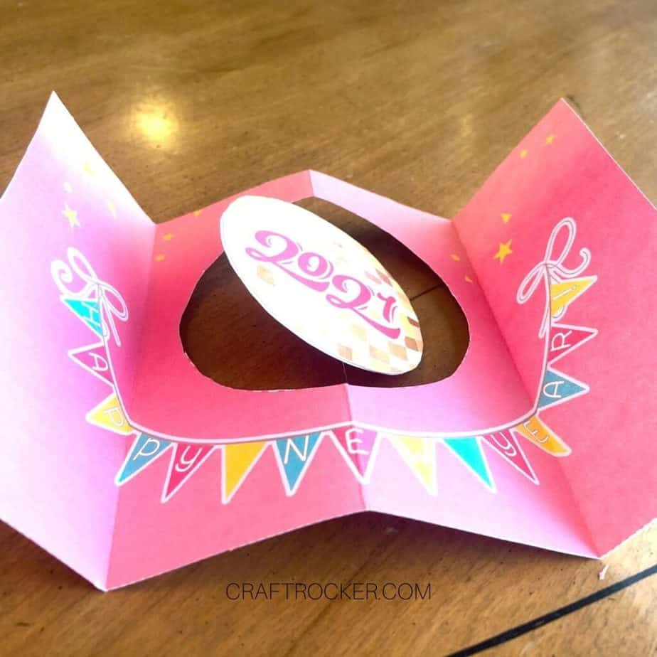 2021 Paper Circles Attached to Card Insert - Craft Rocker