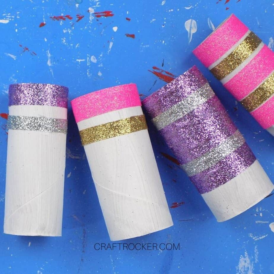 Decorated Cardboard Tubes - Craft Rocker