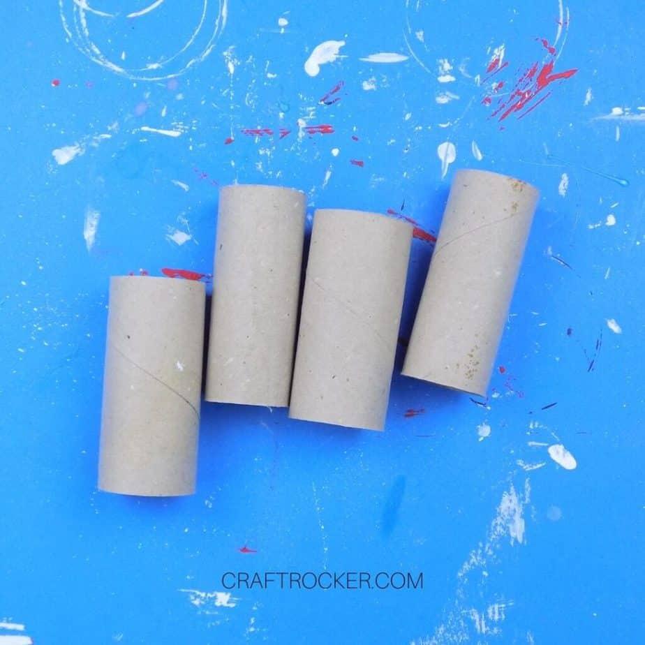 Empty Cardboard Tubes - Craft Rocker