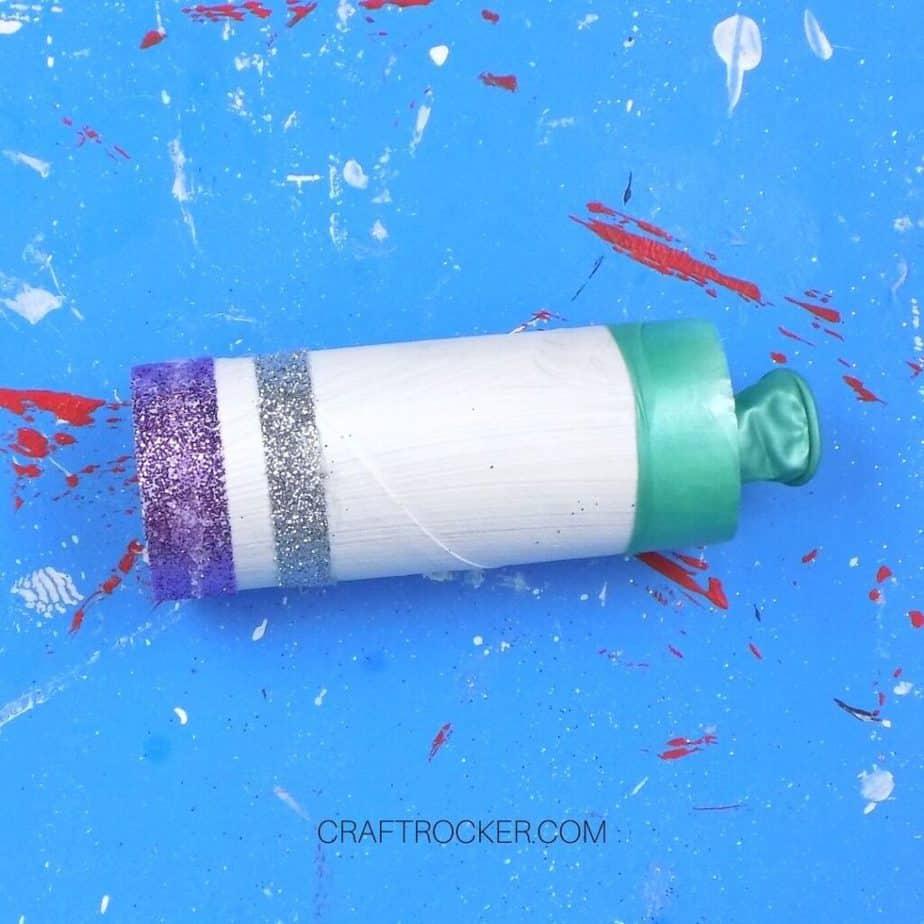 Glittery New Year's Popper - Craft Rocker