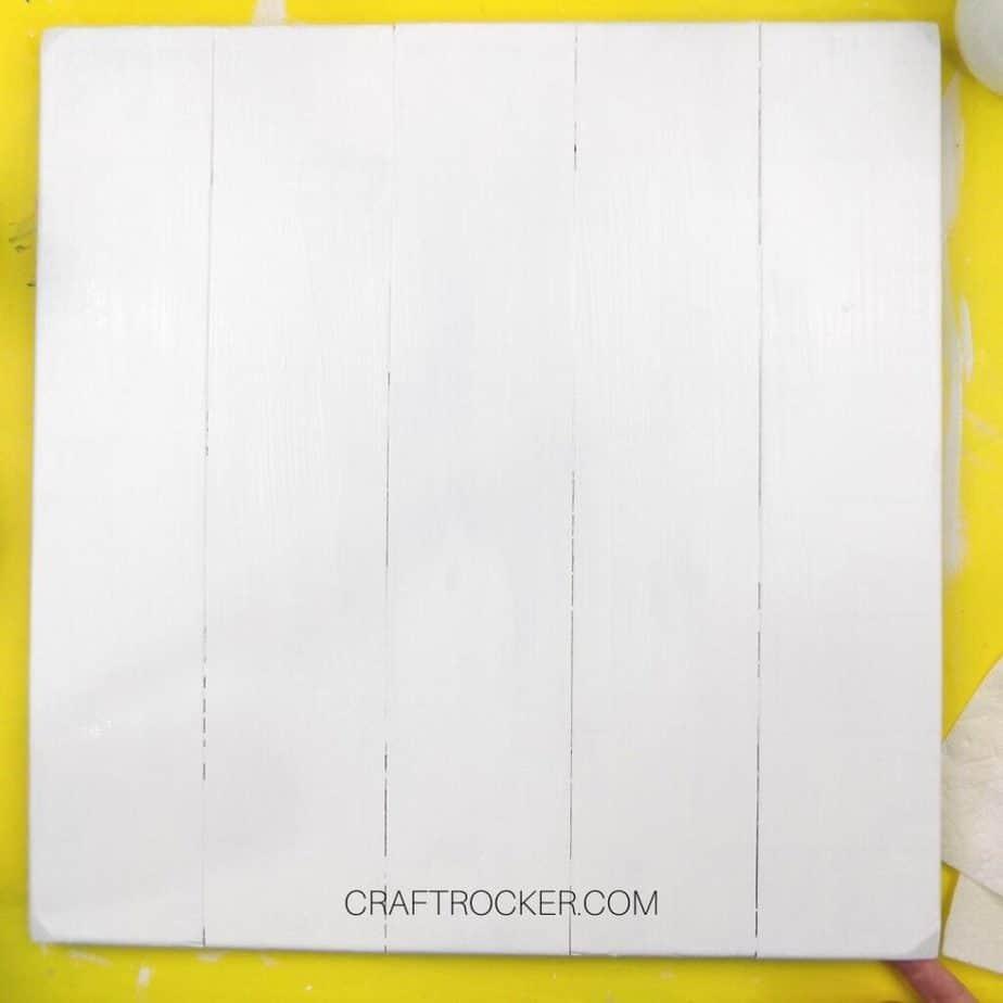 White Pallet Wall Hanging - Craft Rocker