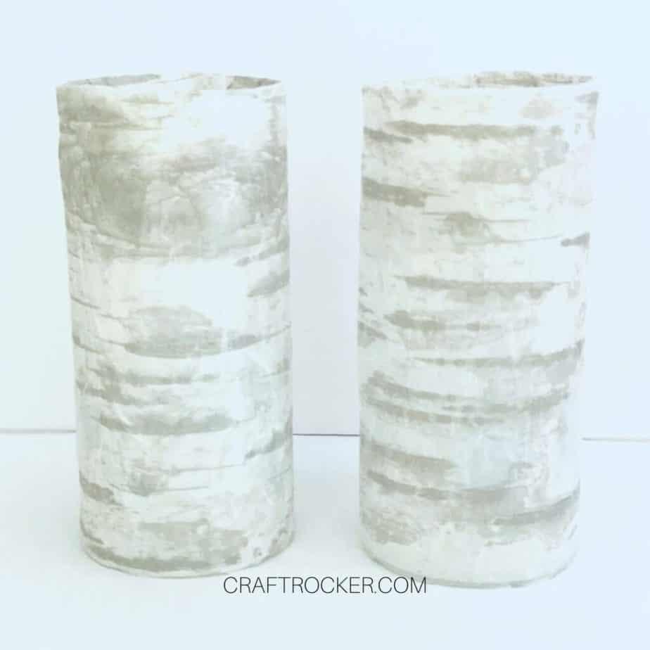 2 Birch Cylinder Vases - Craft Rocker