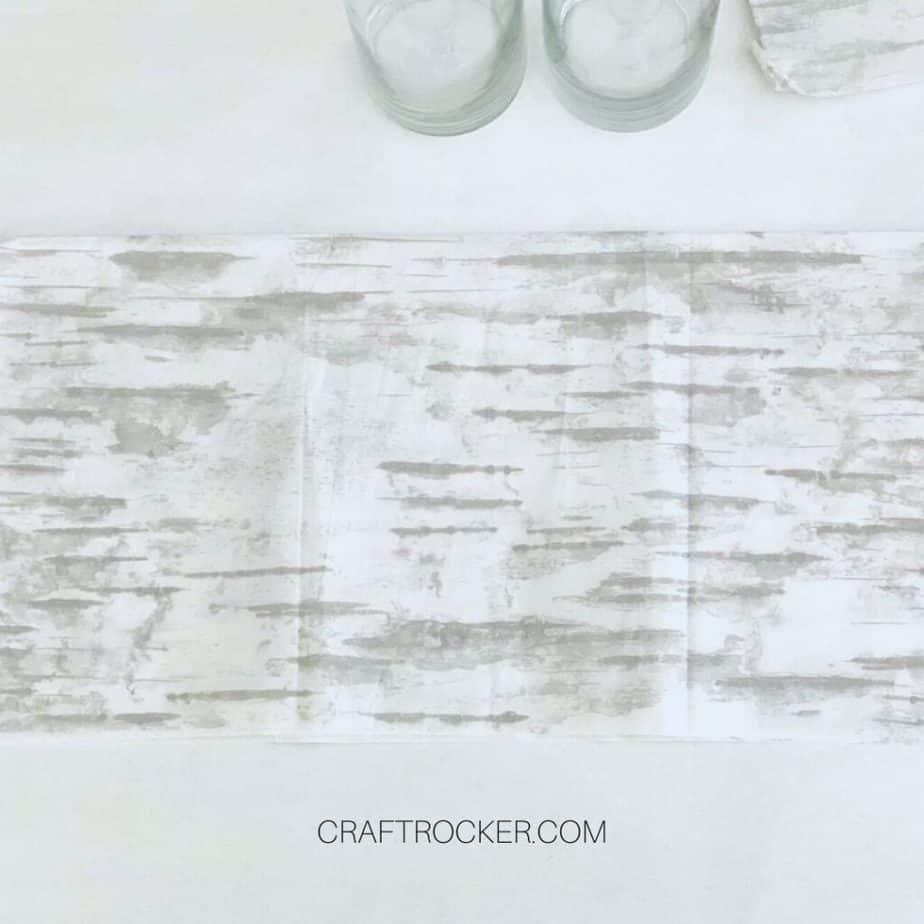 Close Up of Piece of Birch Tissue Paper - Craft Rocker