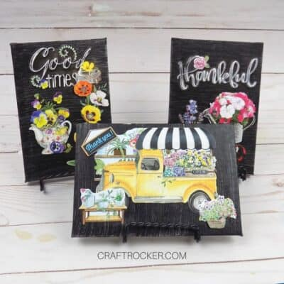 Mini Canvas Mother's Day Gifts