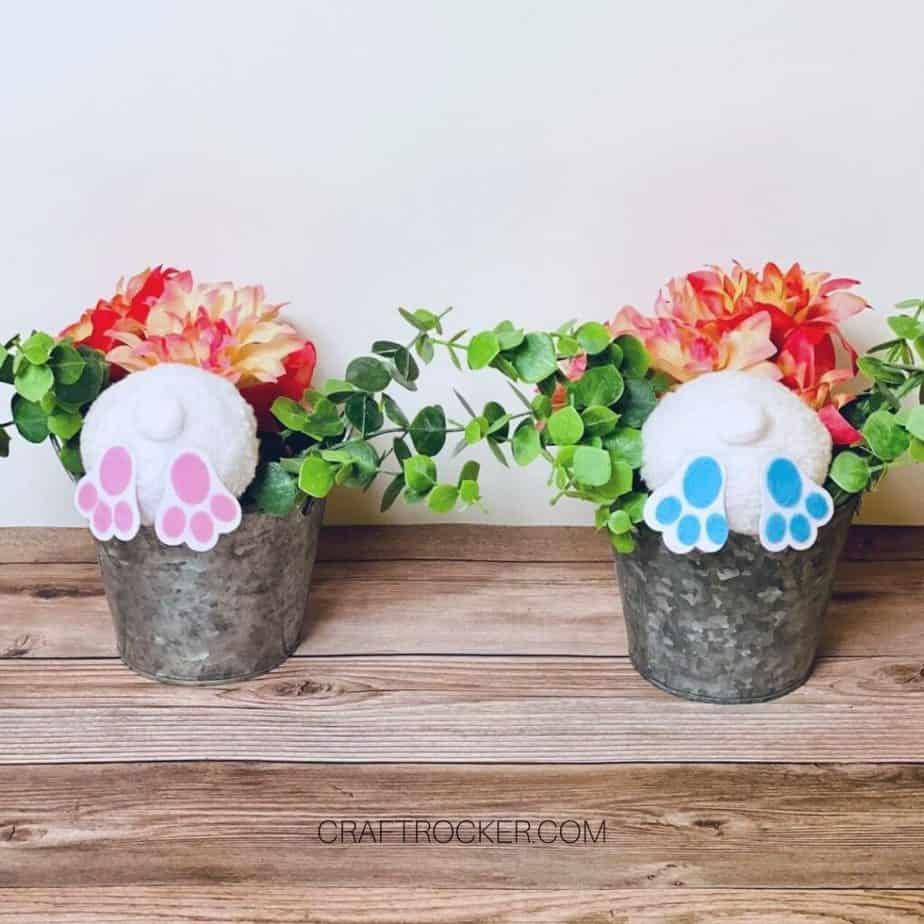 Bunny Butts Easter Decor - Craft Rocker