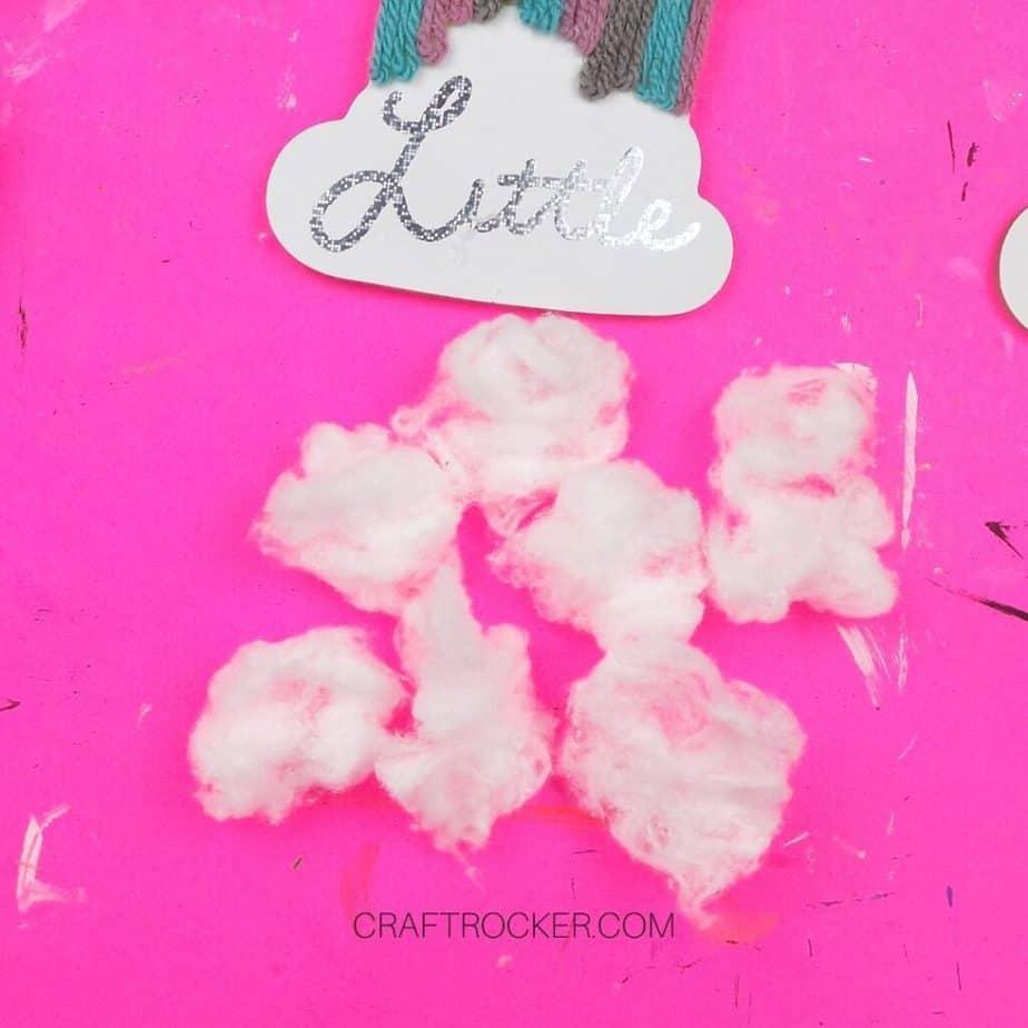 Fluffed Apart Cotton Balls - Craft Rocker