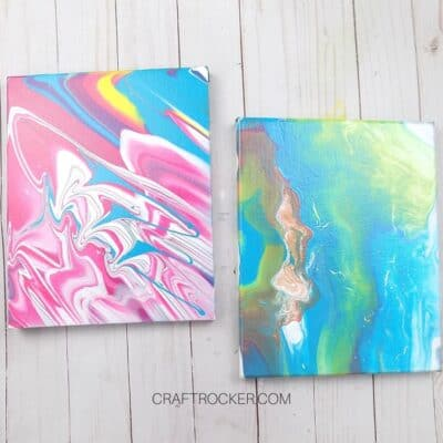 Crazy Easy Acrylic Pour Art Canvas