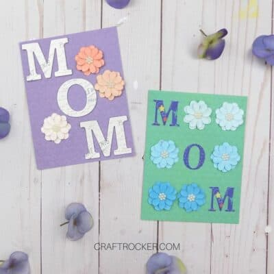 2 Easy DIY Mother's Day Cards
