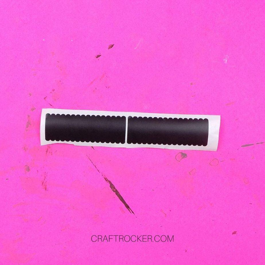 Weeded Vinyl Chalkboard Labels - Craft Rocker