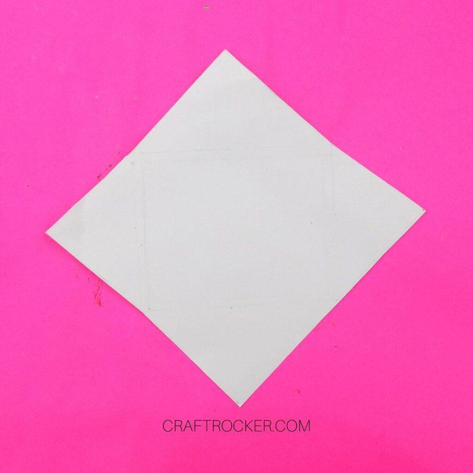 White Diamond Cardstock on Pink Background - Craft Rocker