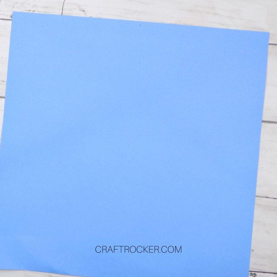 Light Blue 12x12 Cardstock - Craft Rocker