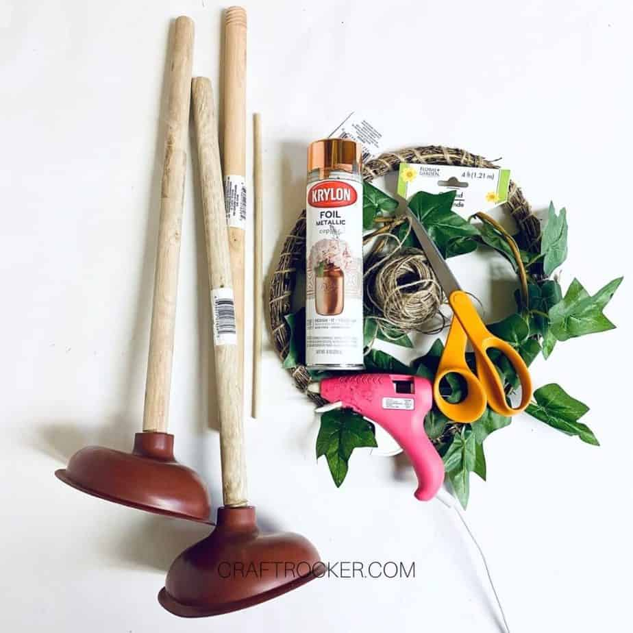 Plungers next to Craft Supplies and Tools - Craft Rocker