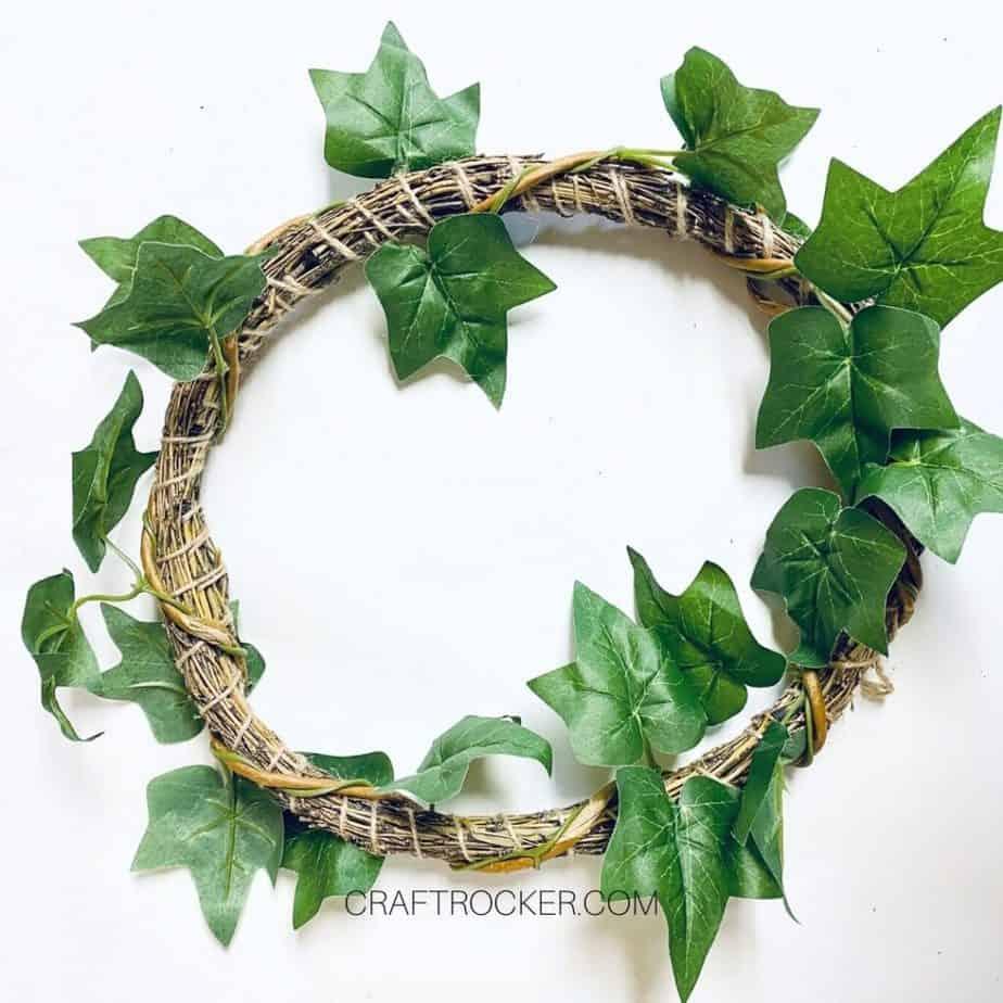 Vine Wrapped Around Bamboo Wreath - Craft Rocker